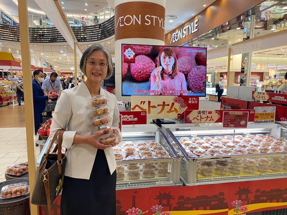 Tuần hàng Việt Nam tại Nhật Bản: Tự hào khi hàng Việt được yêu mến