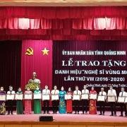 """TKV: 23 cá nhân được vinh danh  """"Nghệ sĩ Vùng mỏ"""" lần thứ VIII"""