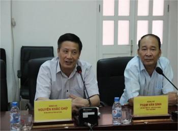 Bí thư Tỉnh ủy Lai Châu Nguyễn Khắc Chử làm việc tại dự án NMNĐ Thái Bình 2