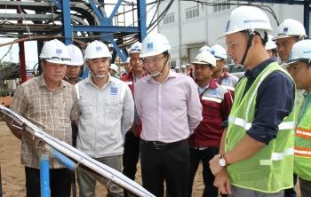 Tổng giám đốc PVN Lê Mạnh Hùng: Cần kiểm soát toàn diện tiến độ Dự án NMNĐ Thái Bình 2