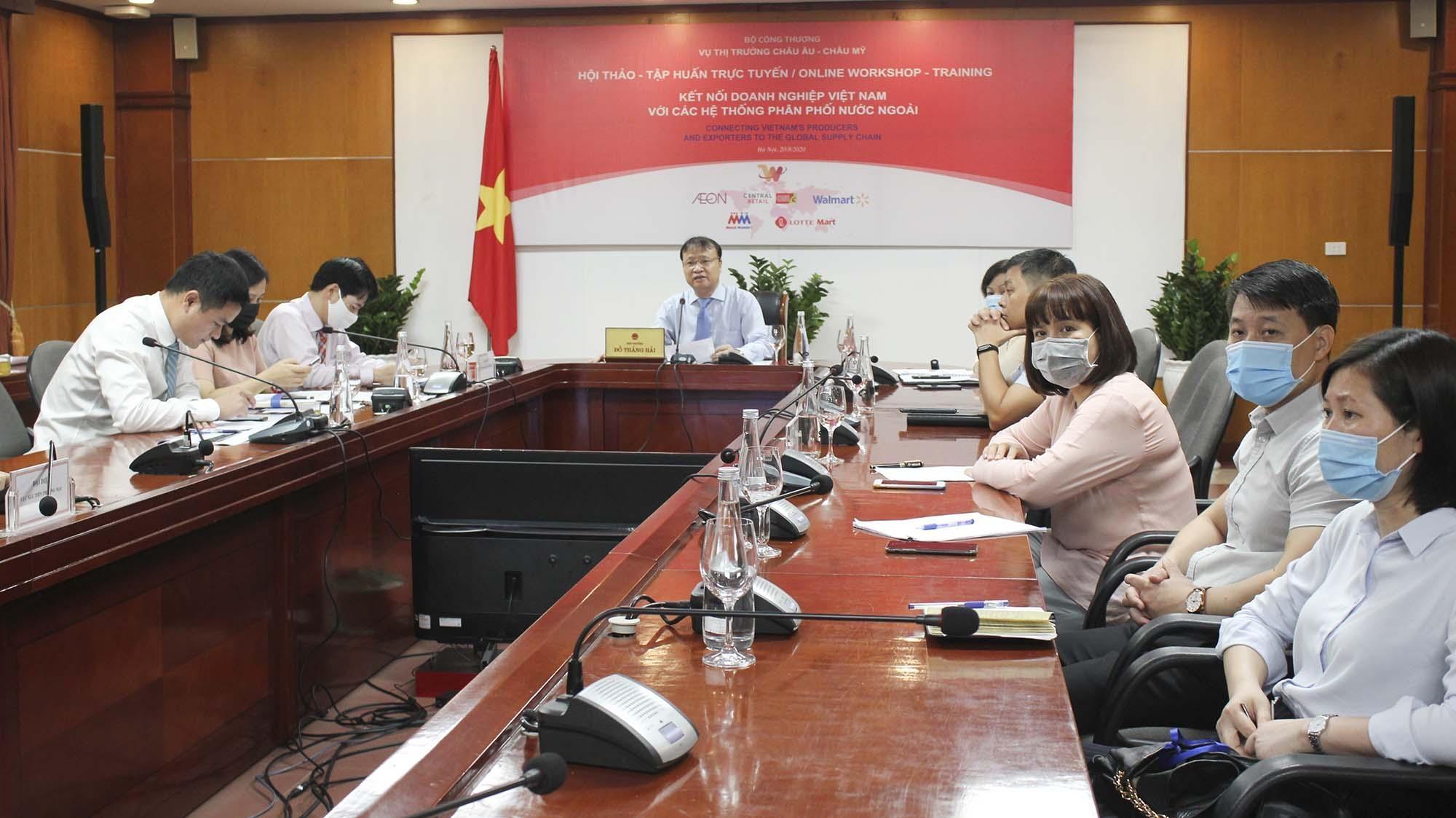 Để doanh nghiệp Việt kết nối với hệ thống phân phối quốc tế