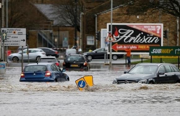 Biến đổi khí hậu khiến tăng khả năng xảy ra lũ lụt ở Tây Âu đến 9 lần