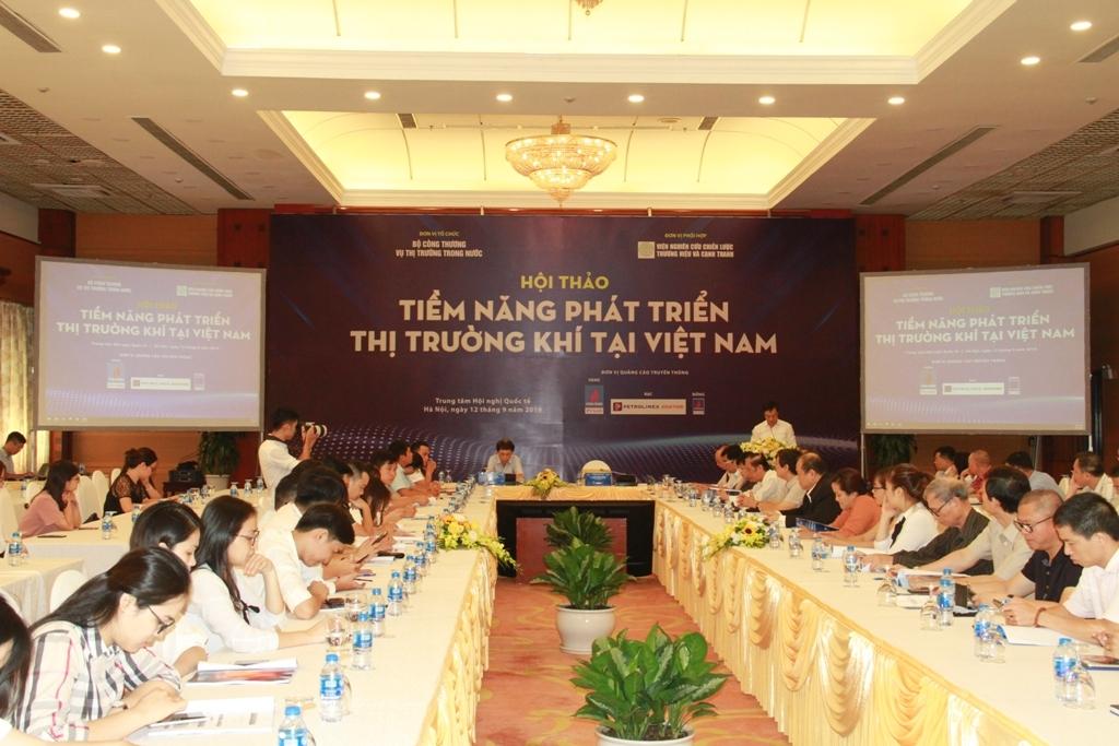 Thị trường khí Việt Nam còn nhiều khó khăn cần tháo gỡ