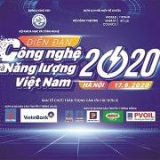 Diễn đàn Công nghệ và Năng lượng Việt Nam 2020: Để có một nền năng lượng xanh và sạch hơn