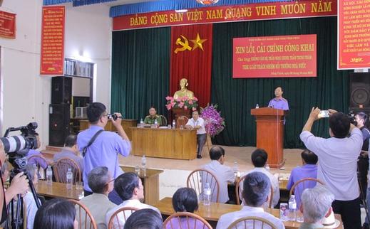 vinh phuc cong khai xin loi ba nguoi bi oan sai gan 40 nam