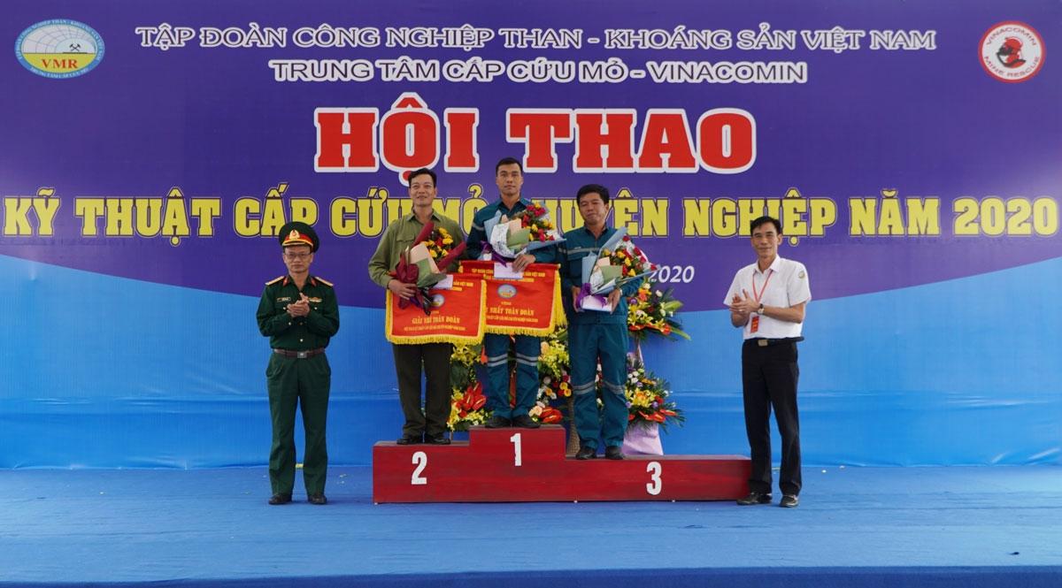 TKV tổ chức Hội thao Kỹ thuật cấp cứu mỏ chuyên nghiệp năm 2020