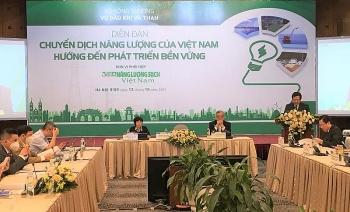 Việt Nam chuyển dịch năng lượng để phát triển bền vững