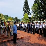 Lãnh đạo Tập đoàn TKV dâng hương tại các khu di tích lịch sử nhân kỷ niệm Ngày Truyền thống 12/11