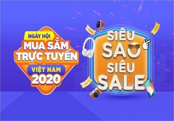 Tưng bừng phát động Ngày hội mua sắm trực tuyến Việt Nam 2020