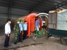 Quảng Ninh: Tiêu hủy 3 tấn chân gà 'bẩn'
