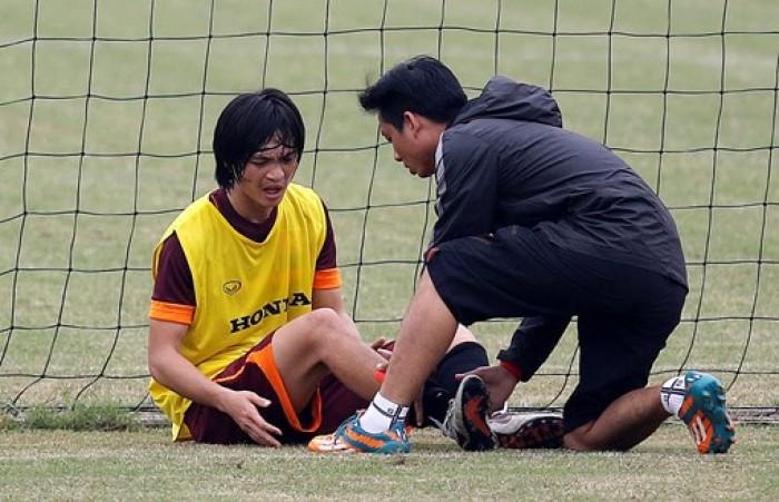 Danh sách U23 Việt Nam:  Không có tên Tuấn Anh
