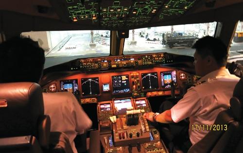 Tản mạn trên một chuyến bay Boeing 777-200