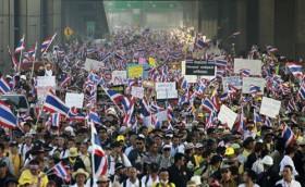 thai lan phong toa bangkok gay thiet hai kinh te