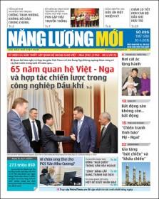 Đón đọc Báo Năng lượng Mới số 395, phát hành thứ Sáu ngày 30/1/2015