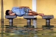 [Chùm ảnh] Những tư thế ngủ không thể 'bá đạo' hơn