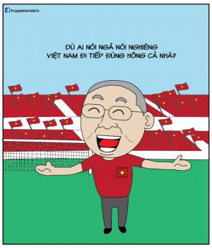 """Loạt ảnh chế hài hước của dân mạng sau khi tuyển Việt Nam """"lách qua khe cửa hẹp"""""""
