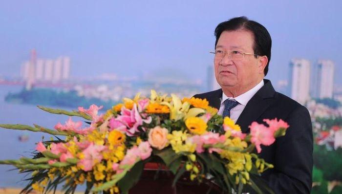 Phó Thủ tướng Trịnh Đình Dũng dự lễ thông xe dự án sửa chữa cầu Thăng Long