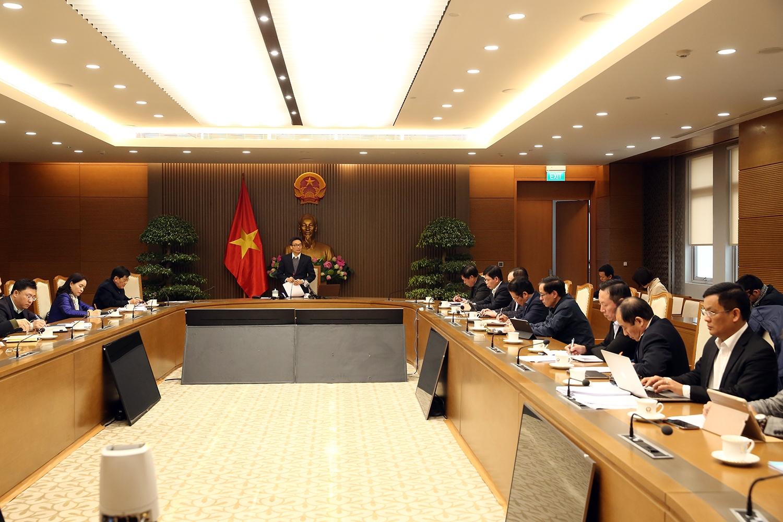 Phó Thủ tướng Vũ Đức Đam chủ trì cuộc họp về phòng chống dịch bệnh Covid-19