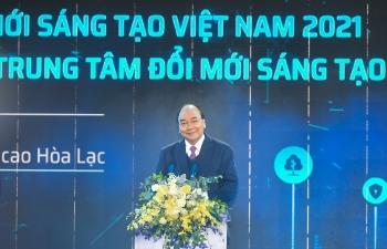 Thủ tướng dự Lễ khởi công Trung tâm Đổi mới sáng tạo quốc gia