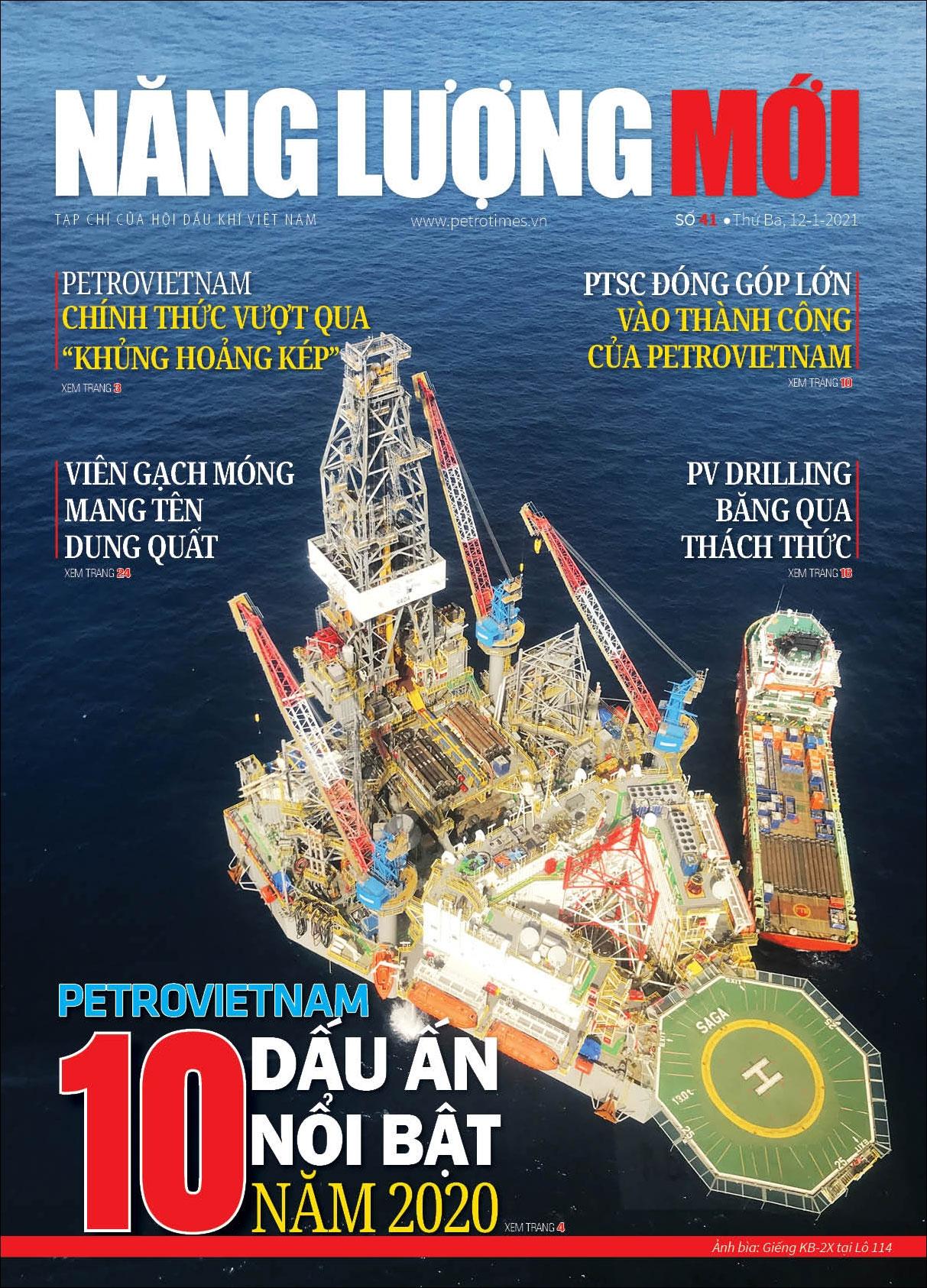 Đón đọc Tạp chí Năng lượng Mới số 41, phát hành thứ Ba ngày 12/1/2021