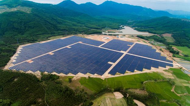 Khánh thành dự án Nhà máy điện mặt trời Mỹ Hiệp 50 MWp