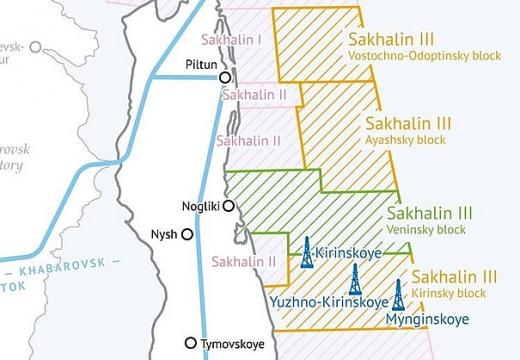 Gazpromneft-Sakhalin thuê giàn khoan ngoài khơi biển Okhotsk