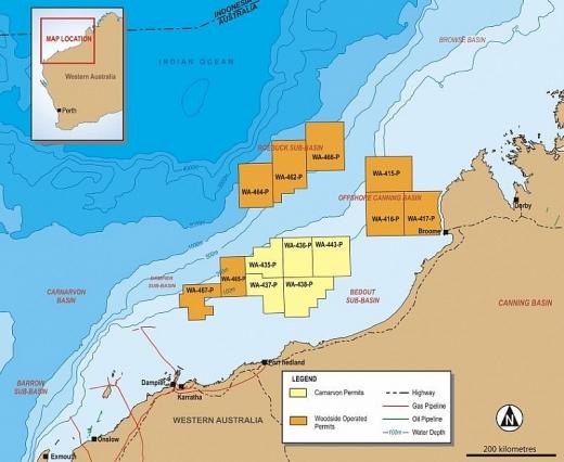 quadrant carnarvon petroleum jv len ke hoach khoan gieng tham do dorado