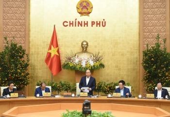 Chính phủ họp phiên thường kỳ tháng 1/2021