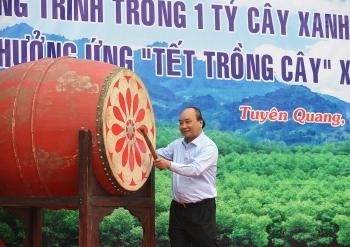 Thủ tướng phát động Tết trồng cây Xuân Tân Sửu tại Tuyên Quang