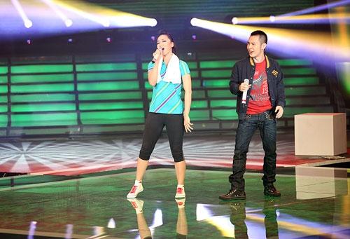 Liveshow 5 Cặp đôi hoàn hảo 2013: Thùy Linh - Hoàng Hải dừng bước