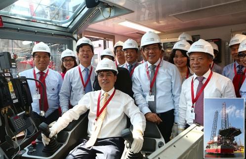 """PV Drilling đã """"nâng"""" mình lên tầm cao châu Á!"""
