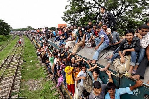 chum anh hai hung canh di tau o bangladesh