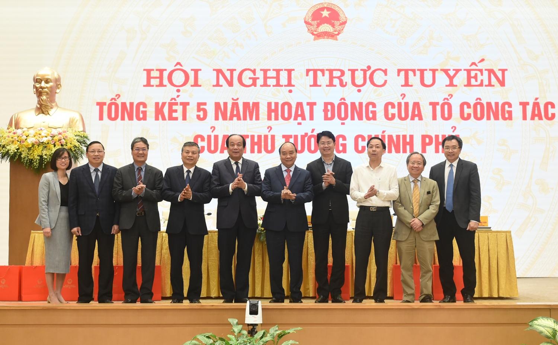 Hội nghị trực tuyến tổng kết 5 năm hoạt động Tổ công tác của Thủ tướng Chính phủ