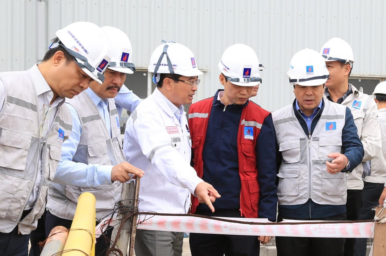 [VIDEO] Lãnh đạo tỉnh Thái Bình, lãnh đạo Petrovietnam kiểm tra tiến độ Dự án NMNĐ Thái Bình 2