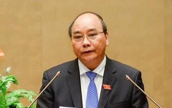 Thủ tướng Nguyễn Xuân Phúc trả lời phỏng vấn sau khi nhậm chức