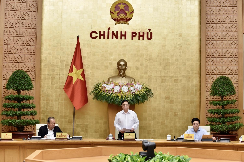 Phiên họp đầu tiên của Chính phủ sau khi kiện toàn nhân sự