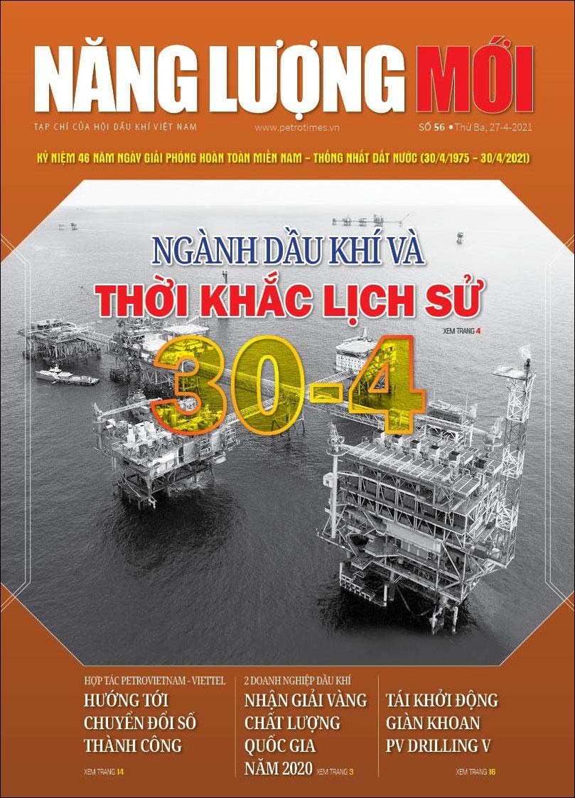 Đón đọc Tạp chí Năng lượng Mới số 56, phát hành thứ Ba ngày 27/4/2021