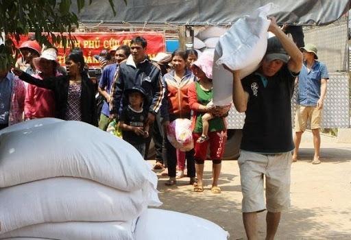 Hỗ trợ Sơn La hơn 59 tấn gạo kỳ giáp hạt