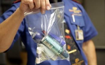 Nới quy định mang chất lỏng trong chuyến bay nội địa