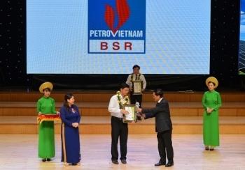 BSR được vinh danh Doanh nghiệp sáng tạo, ứng dụng công nghệ thân thiện môi trường