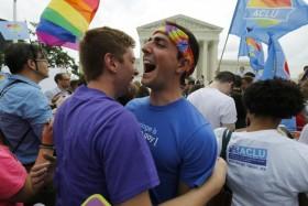 [Chùm ảnh] Cộng đồng LGBT Mỹ vỡ òa trước quyết định lịch sử