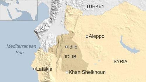 syria ban ha dan uav sap tap kich can cu