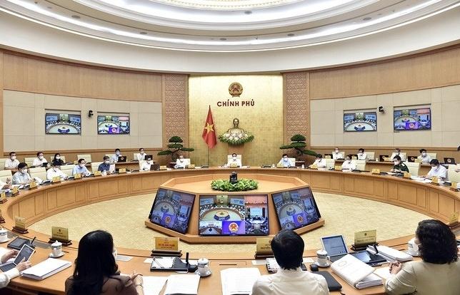 Nghị quyết phiên họp Chính phủ thường kỳ tháng 5/2021