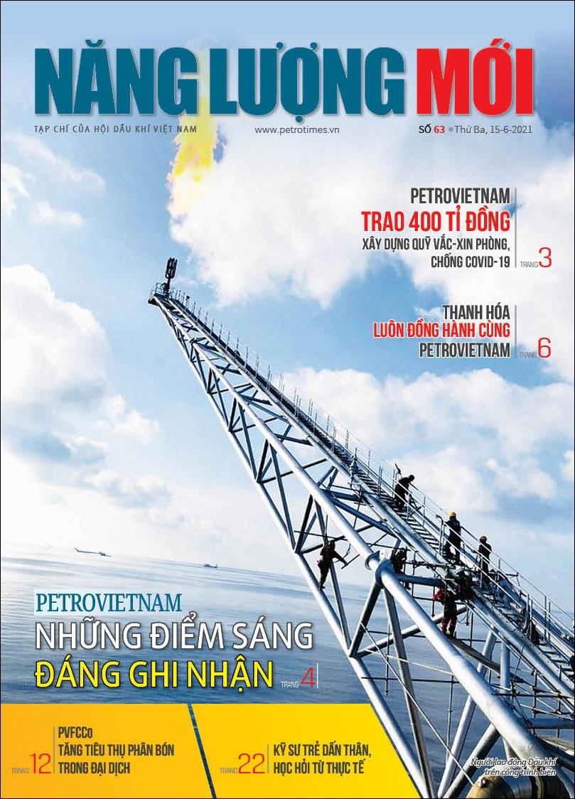 Đón đọc Tạp chí Năng lượng Mới số 63, phát hành thứ Ba ngày 15/6/2021