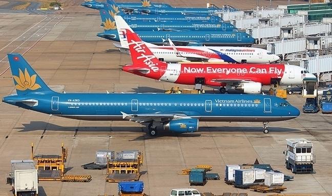 Đề xuất phương án khai thác vận chuyển đường hàng không