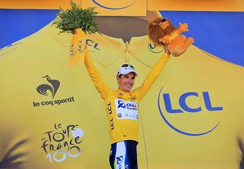 Lịch sử chiếc áo vàng Tour de France