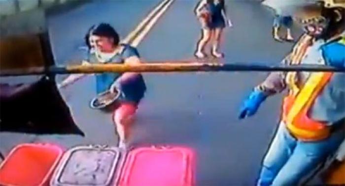 Lạ lẫm kiểu đổ rác ở Đài Loan