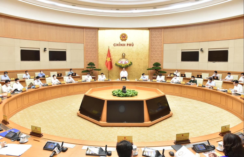 Nghị quyết phiên họp Chính phủ thường kỳ tháng 6/2021