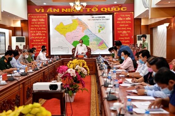 Kết luận của Phó Thủ tướng Thường trực Chính phủ Trương Hòa Bình về kết quả kiểm tra công tác phòng chống dịch COVID-19 tại Thành phố Cần Thơ