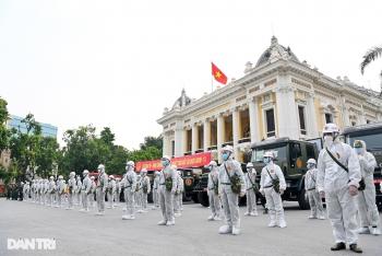 """Nhìn lại hơn 20 ngày Hà Nội đối đầu với sóng dịch """"Delta"""""""